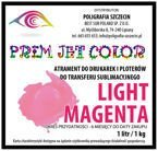 1 litr tusz sublimacyjny Prim Jet Color - LIGHT MAGENTA 1000ml