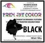 100 ml tusz sublimacyjny Prim Jet Color - BLACK