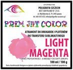 100 ml tusz sublimacyjny Prim Jet Color - LIGHT MAGENTA