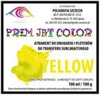 100 ml tusz sublimacyjny Prim Jet Color - YELLOW