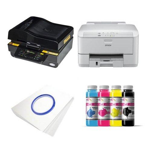 Bardzo dobryFantastyczny Zestaw drukarza 3D Epson WP-4095DN + SZM3D-2 Sublimacja FB26