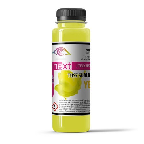 100 ml J-Teck J-Next YELLOW Sublimacja Temotransfer